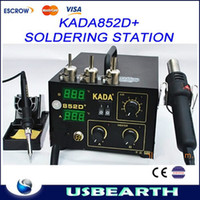 Cheap KADA 852D+ SMD Hot Air Soldering Station , KADA852D+ BGA Welder With Hot Air Gun,Hot Air Desoldering Station