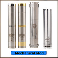 Cheap CHIYOU Mod Nemesis Mod King Mod Caravela Mod E Cigarette Mechanical Mod 18650 18350 Battery Tube for All 510 Thread Clearomizer