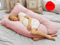Wholesale Todays Mom Total Body Pillow Quality Three Dimensional PP Cotton U Shape Multifunctional Pregnancy Pregnant Woman Cushion Pillow cm