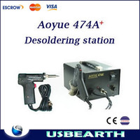 Cheap AOYUE474A+ constant temperature desoldering gun Desoldering Station 220V,soldering station