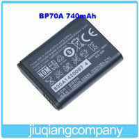 Wholesale BP70A mAh V Original Camera Battery For Samsung PL80 ES70 SL50 SL600 Batterie Bateria AKKU