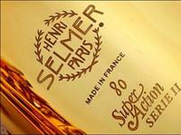Wholesale DHL Senior French brand Salma selmer alto saxophone e musical instrument electrophoresis gold professional