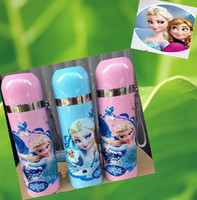 Wholesale 9 off in stock frozen water glass vacuum cup Children cups Stainless steel Cartoon student kettle drop shipping hot sale on sale MC