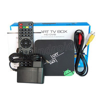 Wholesale HD18T2 DVB T2 Android TV BOX AML8726 MX Dual Core GHz GB GB Android XMBC Player IR Remote Smart Set top Box Free DHL cheap