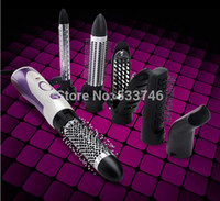 Wholesale C461 HS Hair Rollers Multifunctional Anion Hair Dryer Large Curlers Splint Curling Iron To Straighten Hair Pear Head