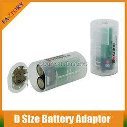 2PCS AA Batteries Battery Case Box D Size Battery Adaptor E Cigarette Battery Storage Box For Rechargeable 2PCS AA Battery With Cheap Price