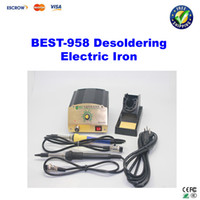 Cheap Free shipping!! BEST 958 Constant Temperature Soldering Desoldering Electric Iron Soldering Station