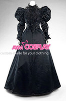 balls making music - New Arrival Custom made Victorian Gown Ball Dress Black Lace Gothic Evening Outfit Cosplay Costume Cosplaylover