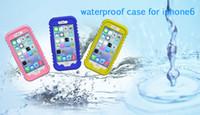 Iphone 6 4.7 pollici, Telefono, custodia Impermeabile, Subacquea custodia protettiva per PC + Silicone, Polvere, IPX8 impermeabile, alto OEM