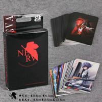 Wholesale Neon Genesis Evangelion EVA POKER Game cards Posters