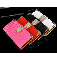 iphone 6 case Lizards drill buckle holster for iphone6 Diamo...