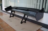 Wholesale Universal Carton Fiber Double Deck Spoiler Length Durable cm