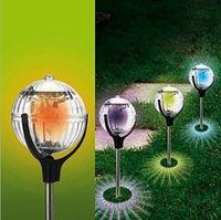 Solar lights spherical Dengcao \ garden lights \ garden ligh...