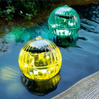 Hydroplaning inserted spherical solar lights multipurpose ou...