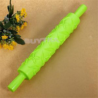 Cheap 2014 New Holiday Sale Kitchen Rolling Pins Lovely Shape Embossed Rolling Pin