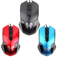 mouse usb - New Top X8 gaming mouse USB optical mouse with high sensitivity beautifully packaged notebook desktop line length m