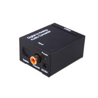 Wholesale Digital Optical Coaxial Toslink to Analog RCA L R Audio Converter Cable V310