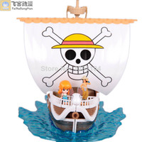 Cheap wholesale two years later PVC one piece figure pirate ship for sale free-shipping