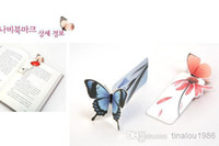 Wholesale Fashion boutique selling cute cartoon butterfly bookmark Mini butterfly bookmark