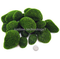 artificial potted topiary - New Scrapbook Decoration Artificial Moss Rocks Balls Cobbles Flower Topiary Tree Pots Foliage And Leaves