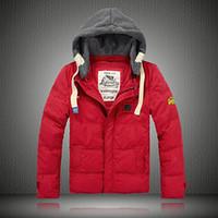 Men best hooded dresses - 2014 best selling Winter Warm Men s Down Jacket Feather dress Super dry