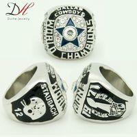 Wholesale fashion sport Ring Super Bowl VI Dallas Cowboys Championship Ring for men big ring Size
