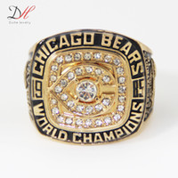 Cheap Championship Rings Best Gold Plated Big Ring