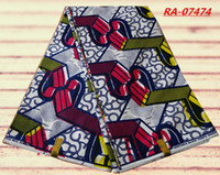 african clothing - African Wax Guaranteed Quality Cotton Textile Prints Fabric yards For Clothes RA