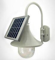 Wholesale solar wall lamp wall lamp villa garden lights solar outdoor lights upscale horn shape energy saving lamps