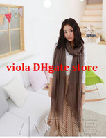 Cheap Vatican yarn scarves solid color cotton scarves cotton Cashmere Pashmina scarves fringed required to be in Europe and America