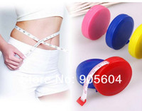 Wholesale x Mini Color Retractable Tape Measure Sewing Tailor Dieting Tapeline Ruler