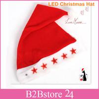 Wholesale 9 Models Christmas LED Electronic Hat Best Christmas Gift Christmas LED Cap