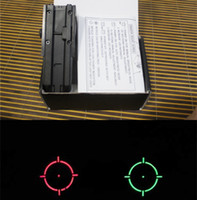 Wholesale New Color balck Sight Red Green Holographic sights Rifle Tactical Scope Telescopic Rail part for hunting