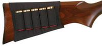 Wholesale Allen Black Shotgun Buttstock Holder Elastic Loops Fits Snug Holds Shells