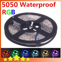 best waterproof tape - Best Price Waterproof RGB LED Strip M leds SMD DC V Red Green Blue White Warm White Yellow led light Ribbon Tape