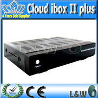 Cheap 2pcs lot fedex shipping cloud ibox 2 plus iptv box mini vu solo CLOUDIBOXII PLUS support IPTV streaming server support software