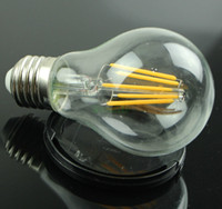 Wholesale led filament bulb e27 w lm dimmable led bulb lights AC V V V V V led filament bulb warm white repalce halogen bulb