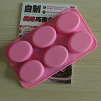 concrete molds - holes oval shaped DIY silicone molds for concrete Baking Pan DHL