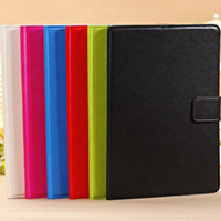 Cheap New! Candy Color Case For iPad Air For iPad 5 Flip Leather Wax Oil Skin Slim Cover Sleep Wake Stand RCD03558