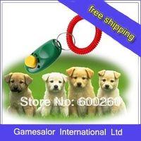 Wholesale Mini Dog Pet Click Clicker Training Trainer Aid Guide
