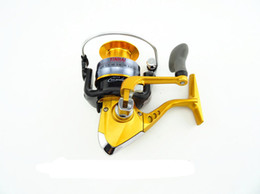 Wholesale Fishing Reels Bearing Gapless Spinning Reel Metal Head Fold Rocker Spool Tackle