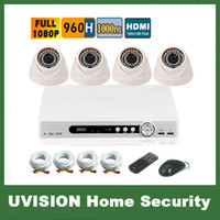 surveillance camera system - HD P H Channel video surveillance TVL doom camera DVR Kit ch CCTV security camera system CCTV system p2p g