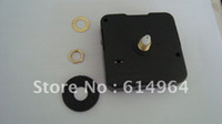 Cheap FREE SHIPPING 12mm clock mechanism kit 500pieces lot, for all kinds of wall clock, with 3hands+rubber+screw+ring