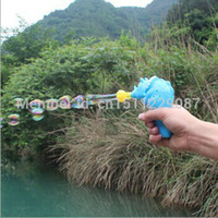 Wholesale Factory direct sale triceratops inertia kid Automatic blow bubble gun Summer hot selling children s toys