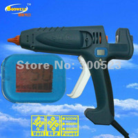 Cheap Wholesale 400W digital display thermostat EU plug hot melt glue gun,industrial glue gun, 1 pcs lot, free shipping