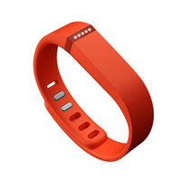 Wholesale Hoot Saling Replacement rubber Band WITH Clasps for Fitbit Flex NoTracker only rubber band Large and Small size