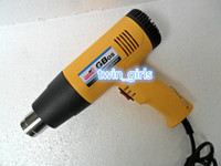 Cheap Wholesale - Car wrap professional heater tool Temperature Adjustable 1600W heat gun hot air gun Soldering Irons DHL free shipping