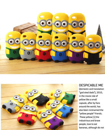Wholesale Best D Despicable Me soft silicone case more minions cover for S S C Plus Samsung galaxy S3 S4 S5 note ipod touch itouch