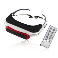 Wholesale 3D Video Eyewear Glasses x480 AV output Double channel Stereo quot Virtual Display
