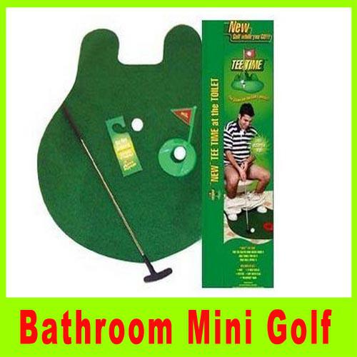 2017 Toilet Mini Golf Potty Putter Putting Mat Golf Game Bathroom Golf Game Green Cup Flag Balls Novelty Gift A303l From West Wind   87 47   Dhgate Com. 2017 Toilet Mini Golf Potty Putter Putting Mat Golf Game Bathroom